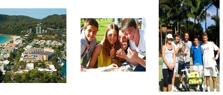 オーストラリア・ヌーサ 中高生夏休み短期留学 「TAP(テニスコース)」