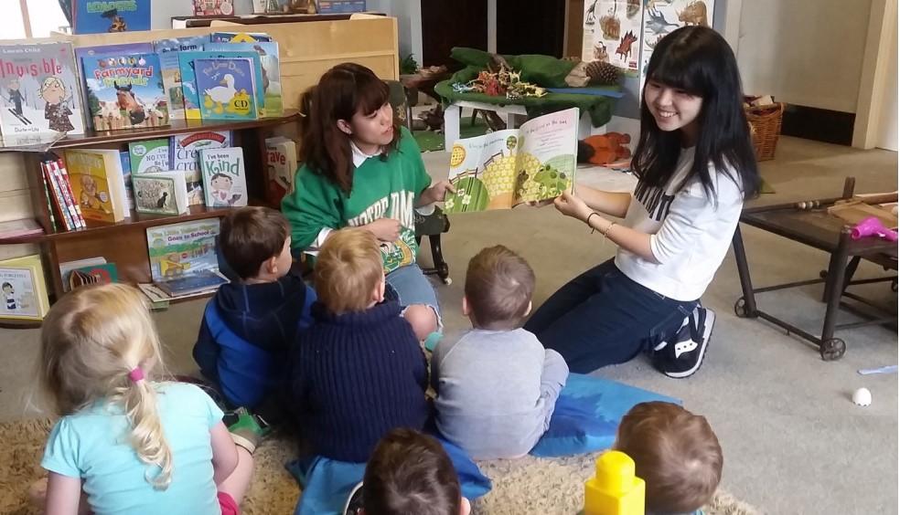 幼稚園ボランティア留学 in ニュージーランド