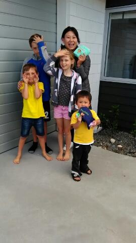 息子☆幼稚園、母☆語学学校のニュージーランド4週間