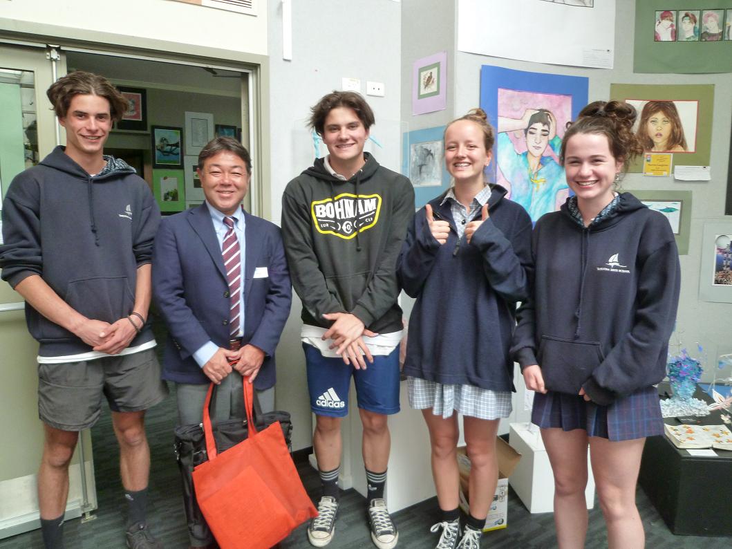 オーストラリア・タスマニアの中学・高校に体験留学!【A10】