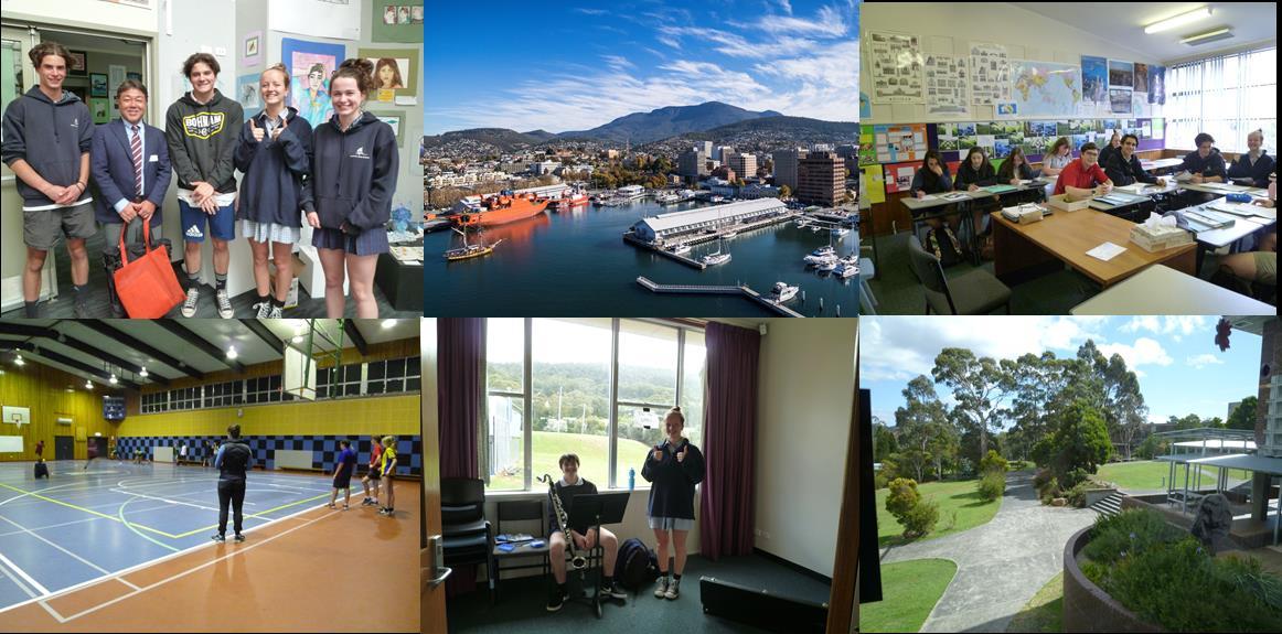 オーストラリア・タスマニアの中学・高校に体験留学!【A12】