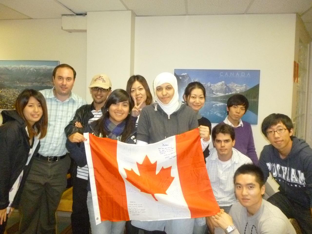 カナダ留学体験談