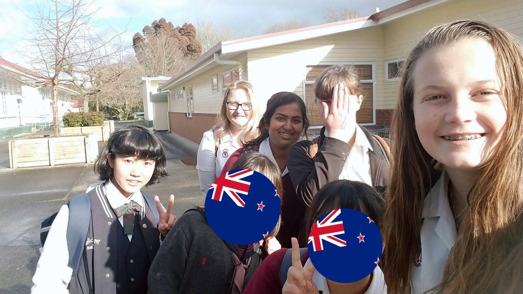 ニュージーランド現地校体験留学